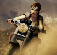 TOMB RAIDER LEGEND: LARA CROFT E LE SUE DUCATI
