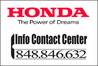 HONDA INFO CONTACT CENTER PER EVITARE LE FILE IN OFFICINA