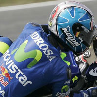DANI PEDROSA ?SPONSORED BY? MOVISTAR?