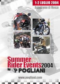 SUMMER RIDER EVENTS, 1-2 LUGLIO: ALL?AUTODROMO DI MONZA IL DIVERTIMENTO E' ''ASSICURATO''